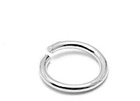 ROUND OPEN SILVER JUMP RING