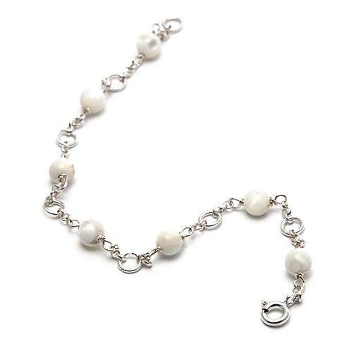 MOTHER OF PEARL OR PEARL BRACELET